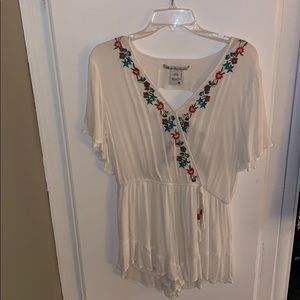 American Rag Romper with floral detail